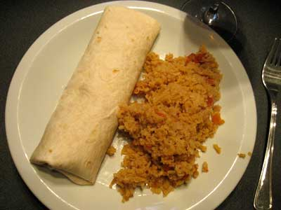 Burrito-And-Rice