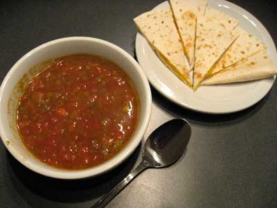 Lentils-And-Quesadilla