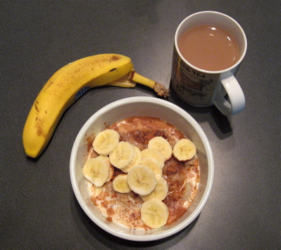 Food Stamp Diet Day 2 Breakfast