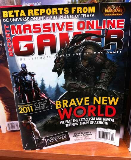Massive online gamer